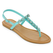 Mixit™ Flower T-Strap Sandals