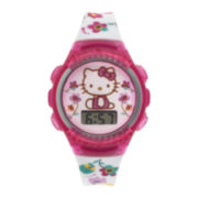 Hello Kitty® Kids White Strap Watch