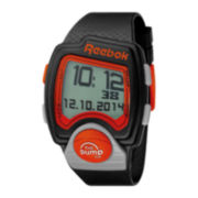 Reebok® Pump PL Mens Black Strap Sport Watch