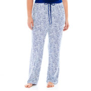 Liz Claiborne® Knit Sleep Pants - Plus