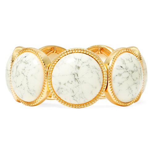 Monet® Gold-Tone Stretch Bracelet