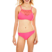 Arizona Halter Bandeau Swim Top or Hipster Bottoms - Juniors