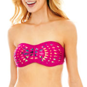 Arizona Cutout Bandeau Swim Top - Juniors