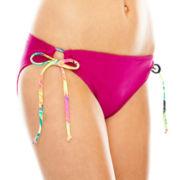 Arizona Adjustable Hipster Swim Bottoms - Juniors