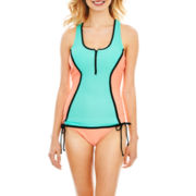 Arizona Colorblock Swim Top or Hipster Bottoms - Juniors