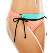 Arizona Adjustable Colorblock Hipster Swim Bottoms - Juniors