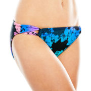 L'Amour by Nanette Lepore Side-Loop Hipster Swim Bottoms - Juniors