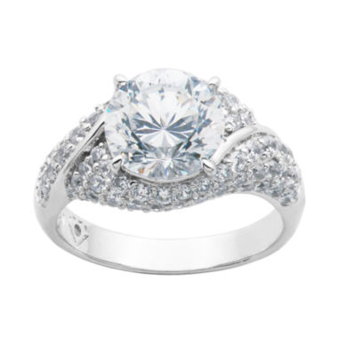 jcpenney.com | DiamonArt® Cubic Zirconia Sterling Silver Ring