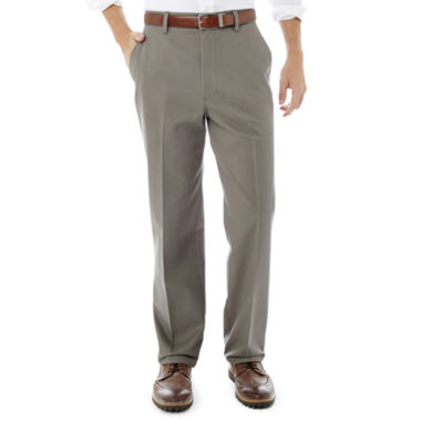 jcpenney.com | St. John's Bay® Worry Free Classic-Fit Flat-Front Pants