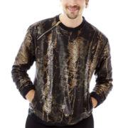 Switch® Snake Zip Neoprene Fleece Sweatshirt