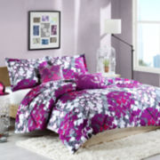 Intelligent Design Annette Floral Comforter Set