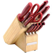 KitchenAid® Candy Apple 12-pc. Knife Set