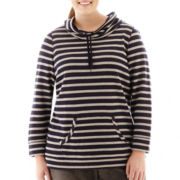 Made For Life™ Long-Sleeve Cowlneck Tunic - Plus