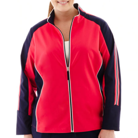 Made For Life Colorblock Jacket - Plus