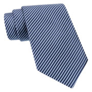 Stafford® Thin Stripe Silk Tie
