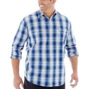 The Foundry Supply Co.™ Vintage Plaid Shirt–Big & Tall