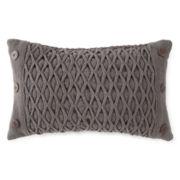 JCPenney Home™ Diamond Woven Oblong Decorative Pillow