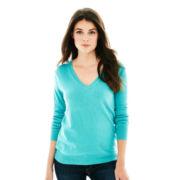 Joe Fresh™ Long-Sleeve V-Neck Sweater