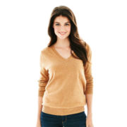 Joe Fresh™ Long-Sleeve V-Neck Sweater