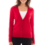 Worthington® Long-Sleeve Cardigan Sweater