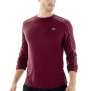 Champion® Powertrain Long-Sleeve Heather Tee