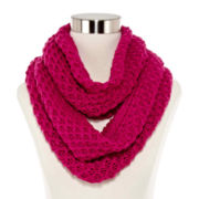 Olsenboye® Solid Basketweave Loop Scarf