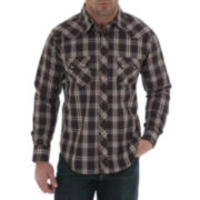 Wrangler® Long-Sleeve Denim Shirt