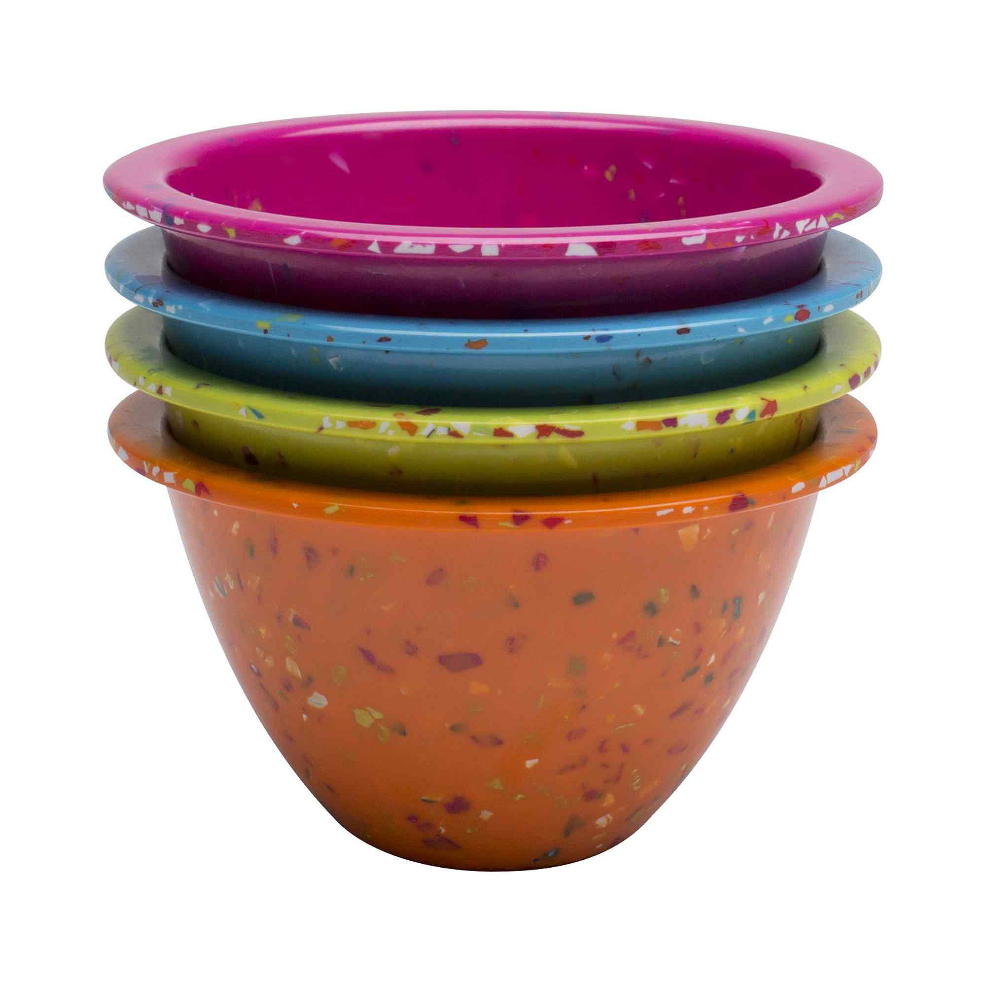 Zak Designs Confetti Set of 4 Classic Prep Bowls