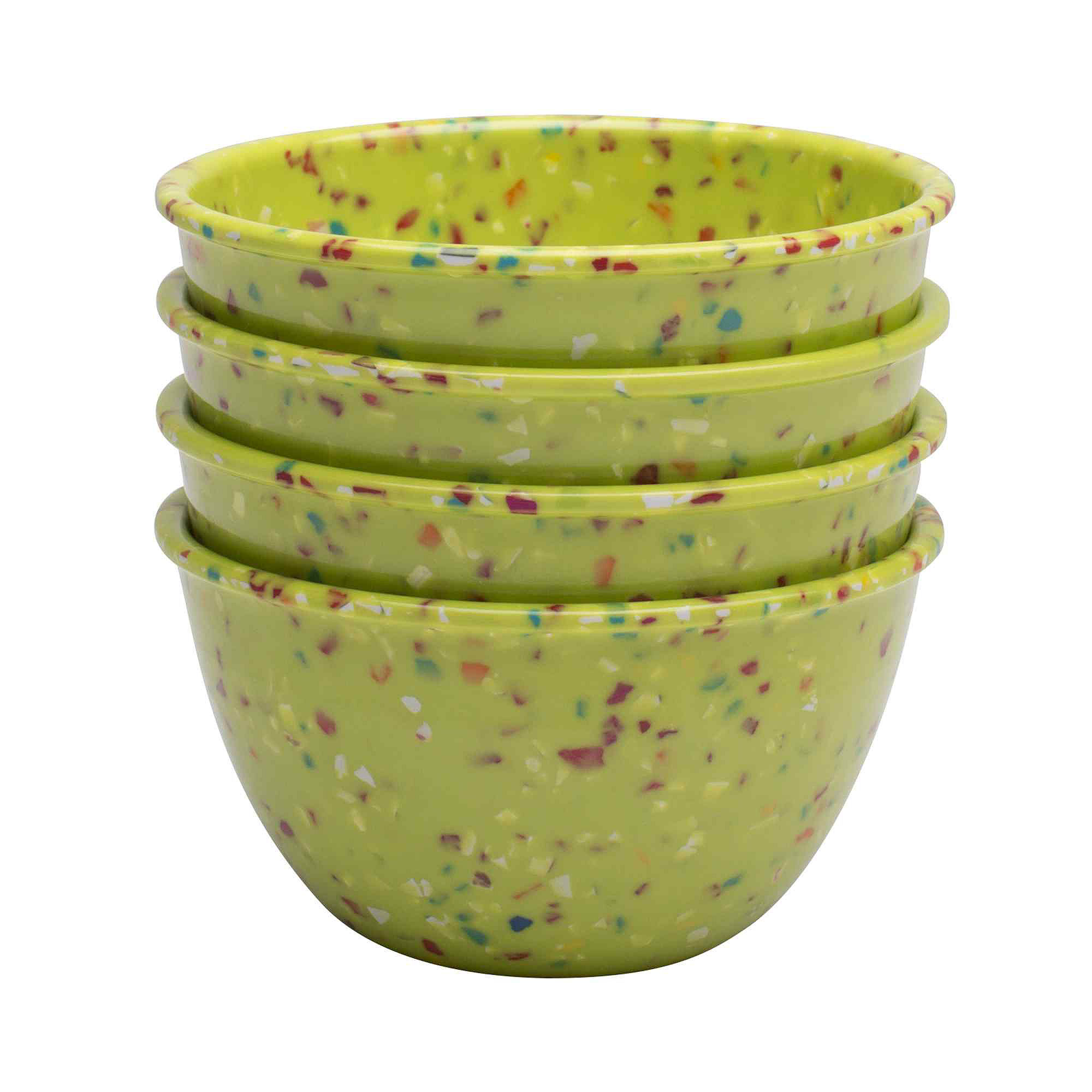 Zak Designs Confetti Set of 4 Pub Prep Bowls