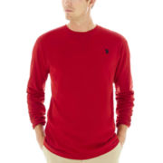 U.S. Polo Assn.® Long-Sleeve Jersey Crewneck
