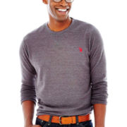 U.S. Polo Assn.® Long-Sleeve Thermal Crewneck