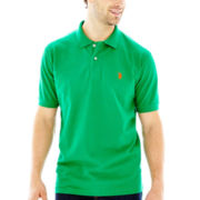 U.S. Polo Assn.® Short-Sleeve Solid Piqué Polo