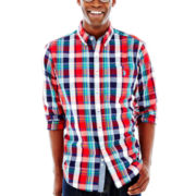 U.S. Polo Assn.® Long-Sleeve Plaid Woven Shirt