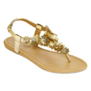 Mixit™ Flower Cluster Shield Sandals