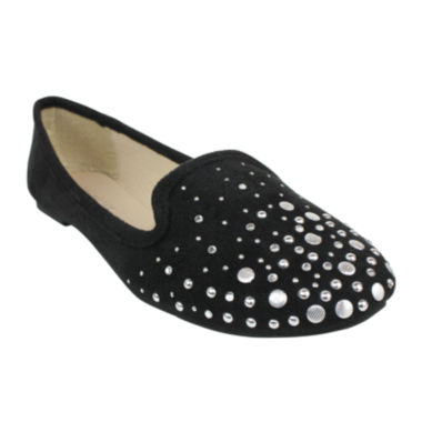 jcpenney.com | Studded Smoking Flats