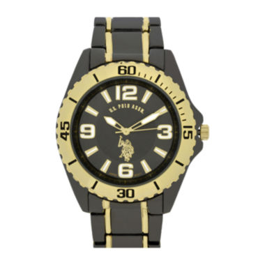 jcpenney.com | U.S. Polo Association® Mens Gray Sport Bracelet Watch