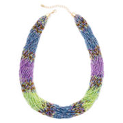 Arizona Multicolor Multi-Row Necklace