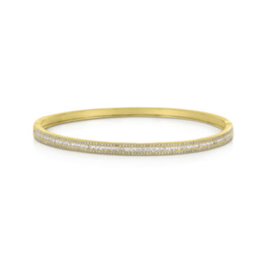 jcpenney.com | LIMITED QUANTITIES 1 CT. T.W. Diamond 14K Yellow Gold Bangle