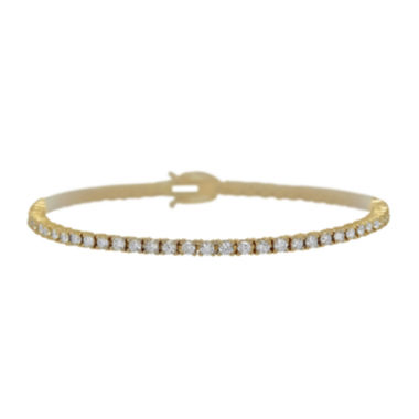 jcpenney.com | LIMITED QUANTITIES 3 CT. T.W. Diamond 14K Yellow Gold Bracelet