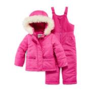 OshKosh B'gosh® Hooded Coat - Preschool Girls 4-6x