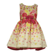 Bonnie Jean® Sleeveless Floral Dress - Toddler Girls 2t-4t