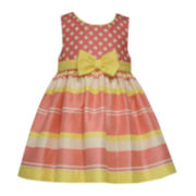 Bonnie Jean®  Polka-Dot Dress - Toddler Girls 2t-4t
