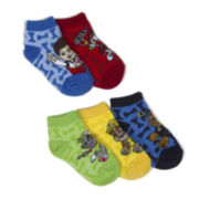 Paw Patrol 5 Pk. Ankle Socks - Boys