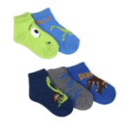 Disney® Good Dinosaur 5-Pk. Ankle Socks - Boys
