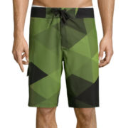 Xersion™ Geo Board Shorts