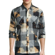 akademiks® Viking Long-Sleeve Woven Shirt