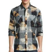 akademiks® Viking Long-Sleeve Woven Shirt