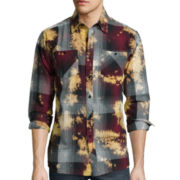 akademiks® Aurora Long-Sleeve Woven Shirt