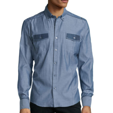 jcpenney.com | No Retreat Button-Front Shirt