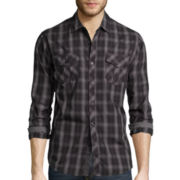 Michael Brandon® Ombre Button-Front Shirt